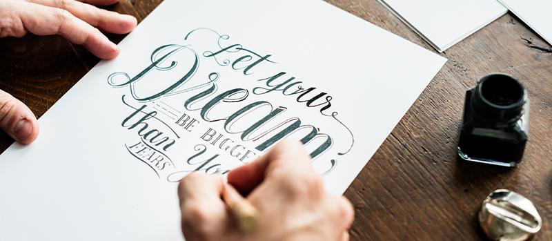 Hand- / Brushlettering & Calligraphy