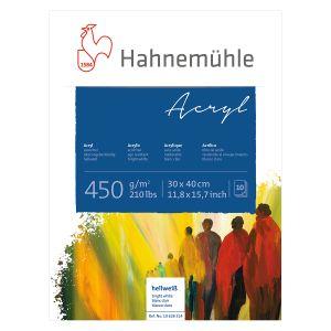 Hahnemühle Acrylmalblock 450g/m²