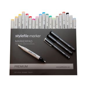 Stylefile Marker Brush Bundle - Medium einfach