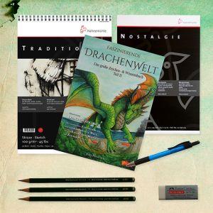 Bundle Faszinierende Drachenwelt Teil 2 - Skizze