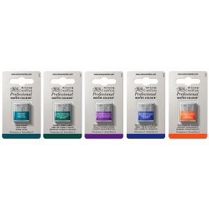 Die Winsor & Newton Professional Aquarellfarben gibt es in 108 verschiedenen Farben