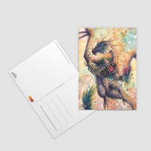 "Postkarte ""Baumgeist"" - Künstlerserie #19"