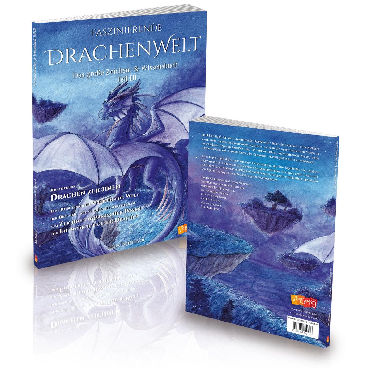 Faszinierende Drachenwelt - Das große Zeichen- und Wissensbuch Teil 3