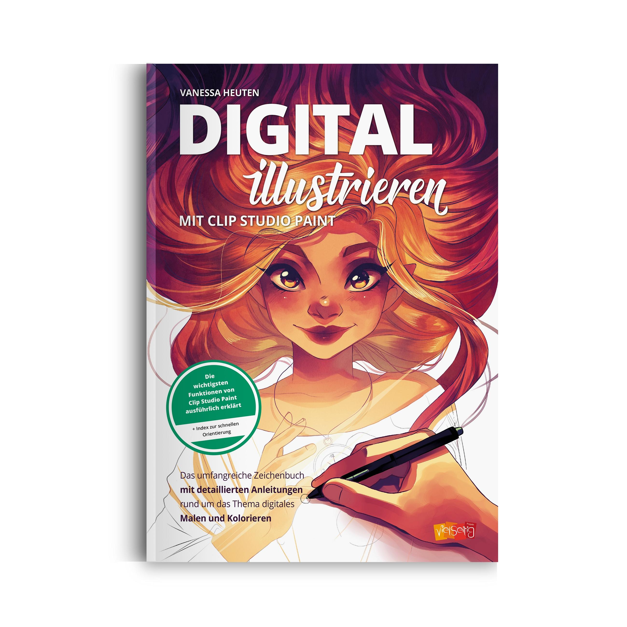 Vanessa Heuten - Digital illustrieren mit Clip Studio Paint