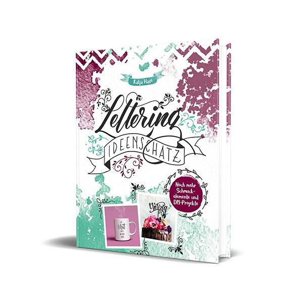 Buch: Lettering Ideenschatz - von Katja Haas